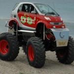 Smart ForFun2: Smart 4×4 s motorem 5,7l