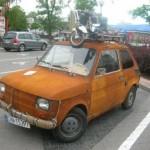 Naprosto rezavý Fiat 126p