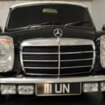MINI s přední částí z Mercedesu