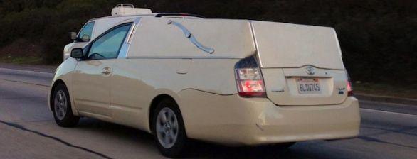 Toyota Prius As The Hearse