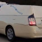 Toyota Prius jako pohřební vůz
