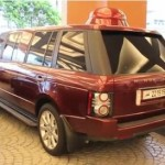 Range Rover XXL s podivnou koulí