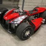 Čtyřkolka Lazareth Wazuma V8F s motorem Ferrari