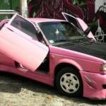 Růžový tuzing z Mexika