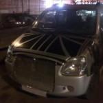 Suzuki Wagon R s obřím grilem