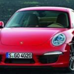 První oficiální fotografie Porsche 911 (2012)