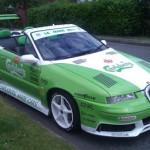 Opel Calibra Cabrio připraven na Le Mans (tuzing)