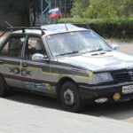 Opel Ascona jako obět tuzingu