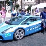 Sportovní policejní auta