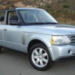 Čtyřdveřový kabriolet Range Rover od NCE