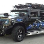 Hummer H2 pro zbrojního fanouška