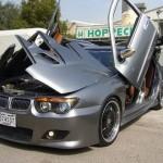 Extremní tuning Nissanu Maxima s předkem BMW 7er