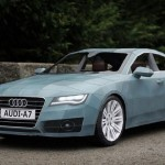 Audi A7 z papíru