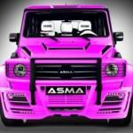 ASMA se podívala na zoubek Mercedesu třídy G