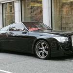 Rolls Royce coupe podomácku