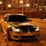 Zlaté BMW M5 (E60)