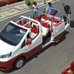 Nissan EVALIA C – sedmi místný kabriolet pro rekreanty