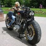 Gunbus 410: obří motorka