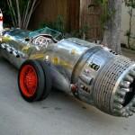 Historická auto-raketa od Cadillacu