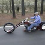 Sci-fi motorka