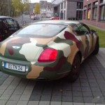 Army Bentley Continental