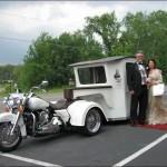 Originální svatební limuzína