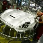 Pohled do továrny Ferrari