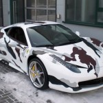 Ferrari 458 armádní verze