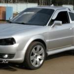 Tuzing: Audi Coupe po rusku
