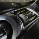 Batmobil s turbínovým motorem z vrtulníku