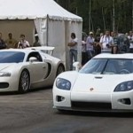 Bugatti Veyron a Koenigsegg CCXR se utkají ve sprintu