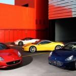 45% vozů Ferrari má červenou barvu, před 15-lety to bylo 85%