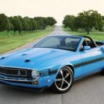 Ford Mustang předělán do retro stylu