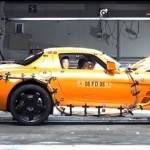 Mercedes Benz SLS AMG – Crash Test