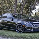 Mercedes Benz E350 upraven od Hess Motorsports