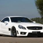 Mercedes-Benz SL63 AMG dostal agresivní bodykit