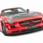 Rudý Mercedes SLS AMG od Hamannu