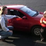 Zmenšený VW Gol jako Mini-Gol