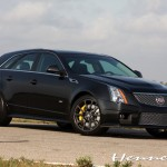 Cadillac CTS-V Black Diamond Edition V700 Sport Wagon by Hennessey