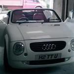 Replika Audi TT – cestou minimalizace