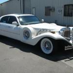 Excalibur Limousine na bázi Lincoln Town Car (ročník 2006)