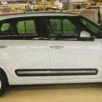 Fiat 500XL: pětistovka pro sedum cestujících na první fotce