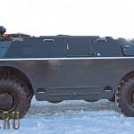 Tuning vojenského transportéru