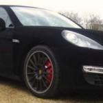 Sametové Porsche Panamera