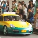 Porsche Boxster S jako TAXI (video)