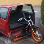Mopedo-auto z Renaultu Clio