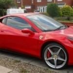 Podařená replika Ferrari 458 Italia