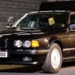 BMW se ohlíží na druhou generaci řady 7 (E32)
