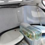 Auto s vestavěným akváriem