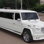 Mercedes G v podobě dlouhé limuzíny
